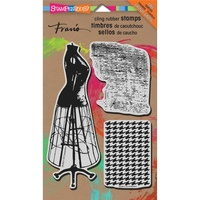 Stampendous Cling Stamp Dressform