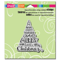 "Stampendous Cling Stamp 3x2.5"" Tree Wish"