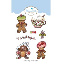 Elizabeth Craft Designs Clear Stamps Candy Land by Krista Schneider
