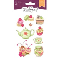 Elizabeth Craft Designs Clear Stamps Cucina With Love by Modascrap MSTC7001