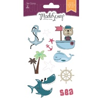 Elizabeth Craft Designs Clear Stamps Sailor's Life by Modascrap MSTC7004