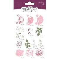 Elizabeth Craft Designs Clear Stamps Sweet Vintage Rose by Modascrap MSTC7005