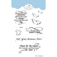 Elizabeth Craft Designs Clear Stamp Set Soar Collection by Suzanne Cannon