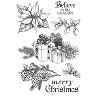 "Kaisercraft Christmas Edition 4x6"" Clear Stamp"