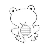 Kaisercraft Clear Mini Stamp Frog