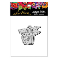Stampendous Cling Stamp Cat Angel by Laurel Burch
