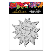 Stampendous Cling Stamp Sister Sun by Laurel Burch