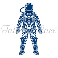 Tattered Lace Die Spaceman