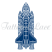 Tattered Lace Die Rocket