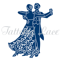 Tattered Lace Die Ballroom Couple