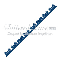 Tattered Lace Die Scalloped Butterfly Border