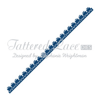 Tattered Lace Die Butterfly Border