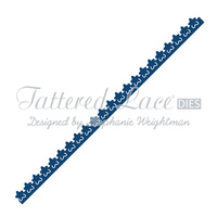 Tattered Lace Die Flower Border