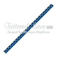Tattered Lace Die Heart Border