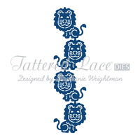 Tattered Lace Die Lion Border