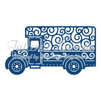 Tattered Lace Die Delivery Van