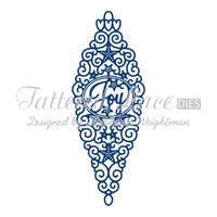 Tattered Lace Die Joy Bauble