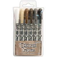 Ranger Distress Crayon Set #3 6pk by Tim Holtz