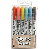 Ranger Distress Crayon Set #7 6pk by Tim Holtz