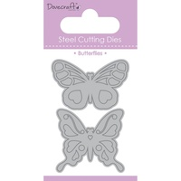 Dovecraft Value Die Butterfly Duo 2pc