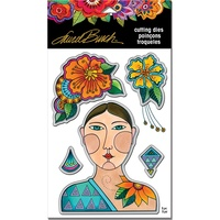 Stampendous Die Blossoming Woman by Laurel Burch