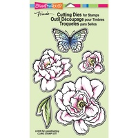 Stampendous Die Set Lovely Garden 5pc