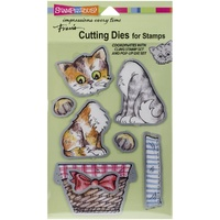 Stampendous Die Set Kitties