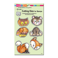 Stampendous Die Set Woodland Friends