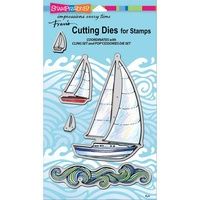 Stampendous Die Sailboats