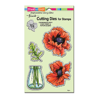 Stampendous Die Pretty Poppies by Fran Seiford
