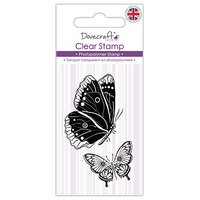 Dovecraft Clear Stamp Butterflies