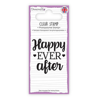 Dovecraft Clear Stamp Happy Ever After