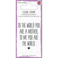 Dovecraft Clear Stamp Mother