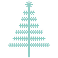 Kaisercraft Decorative Die Scandi Christmas Tree