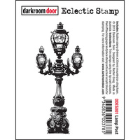 Darkroom Door Eclectic Stamp Lamp Post