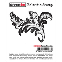 Darkroom Door Eclectic Stamp Fancy Flourish