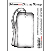 Darkroom Door Frame Stamp Shipping Tags