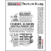 Darkroom Door Texture Stamp Gazette