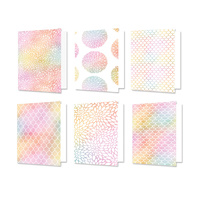 "Hunkydory Design Essentials Card Blanks with Envelopes 5x7"" Rainbow Radiance"