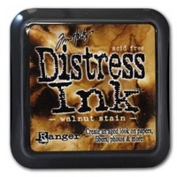 Ranger Distress Ink Pad Walnut Stain by Tim Holtz