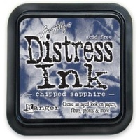 Ranger Distress Ink Pad Chipped Sapphire by Tim Holtz