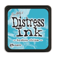 Ranger Distress Mini Ink Pad Broken China by Tim Holtz