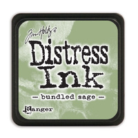 Ranger Distress Mini Ink Pad Bundled Sage by Tim Holtz