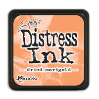 Ranger Distress Mini Ink Pad Dried Marigold by Tim Holtz