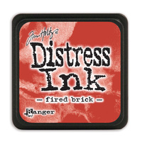 Ranger Distress Mini Ink Pad Fired Brick by Tim Holtz