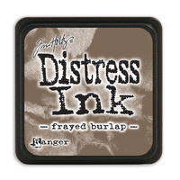 Ranger Distress Mini Ink Pad Frayed Burlap by Tim Holtz