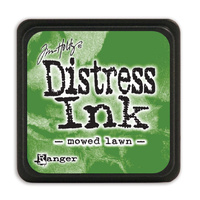 Ranger Distress Mini Ink Pad Mowed Lawn by Tim Holtz