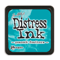 Ranger Distress Mini Ink Pad Peacock Feathers by Tim Holtz