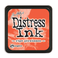 Ranger Distress Mini Ink Pad Ripe Persimmon by Tim Holtz