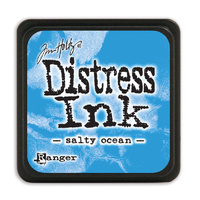 Ranger Distress Mini Ink Pad Salty Ocean by Tim Holtz